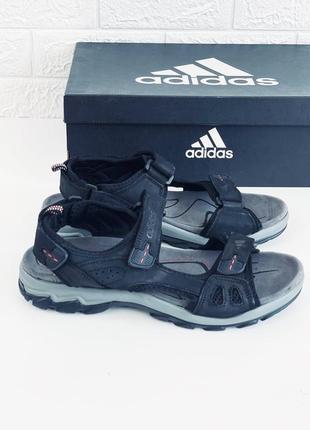Adidas сандали летние мужские кожаные адидас сандалии босоніжки адідас сандалі