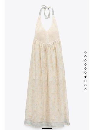 Плаття zara нова колекція,сукня zara ,сарафан zara5 фото