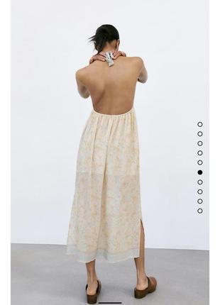 Плаття zara нова колекція,сукня zara ,сарафан zara6 фото