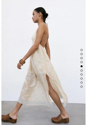 Плаття zara нова колекція,сукня zara ,сарафан zara7 фото