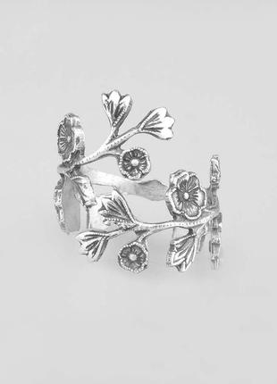 Regal rose wild eve sterling silver plated rose колечко