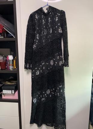 Платье коллаборация erdem&hm