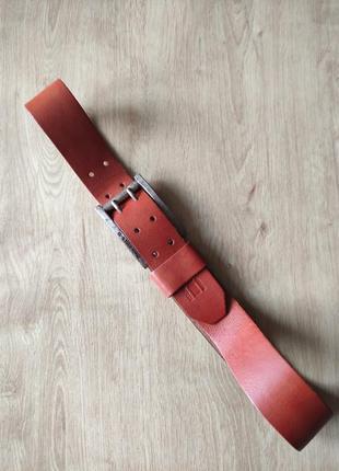 Шикарный мужской кожаный ремень g- star raw, р.95