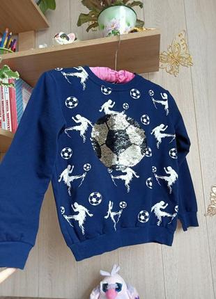 Свитер для маленького футболиста