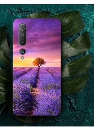 Лавандовый,фиолетовый цветочный чехол, бампер на телефонredmi note8pro 🌷 💜