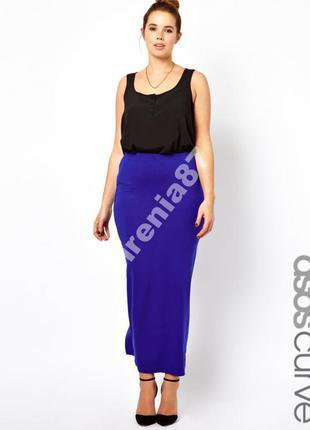 №54 стильная макси юбка  asos