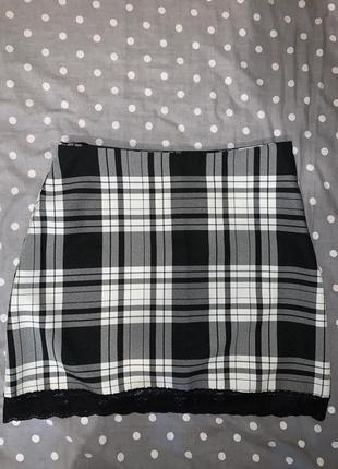 Спідниця в клітку, юбка