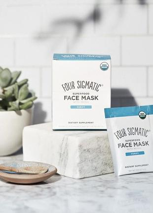 Маска для лица 10 саше маска four sigmatic superfood face mask with reishi6 фото