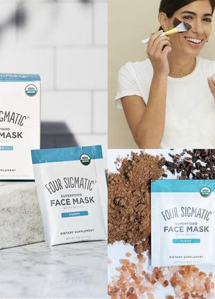 Маска для лица 10 саше маска four sigmatic superfood face mask with reishi