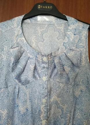 Нежная шелковая блуза3 фото