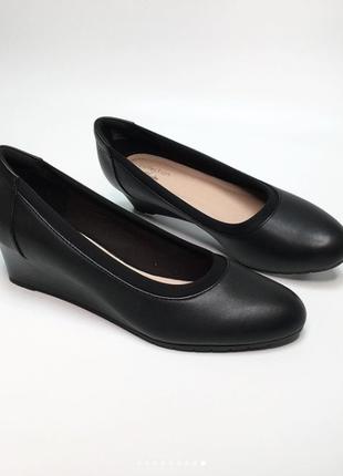 Кожаные туфли clarks mallory оригинал 38-39