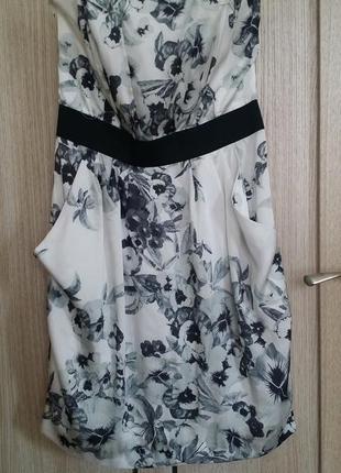 Платье. коктельне міні плаття h&m. usa.