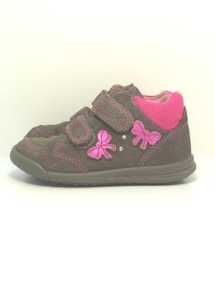 Детские замшевые ботинки superfit р. 25-26