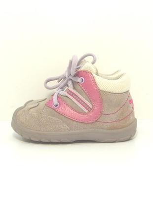Детские замшевые ботинки superfit р. 21-22