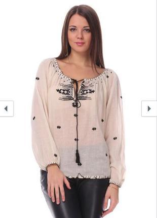 Новая блуза в этно стиле mango
