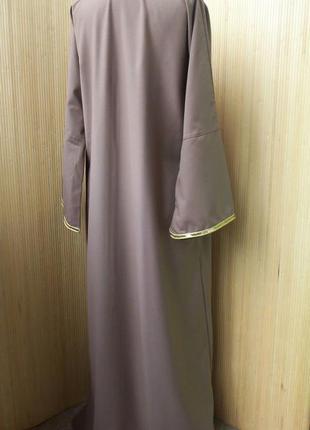 Длинное платье рубаха  / абая  m/l2 фото