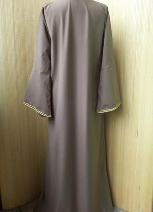 Длинное платье рубаха  / абая  m/l3 фото