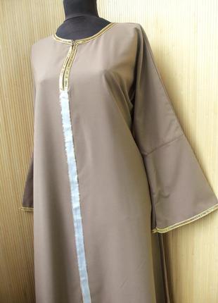 Длинное платье рубаха  / абая  m/l4 фото