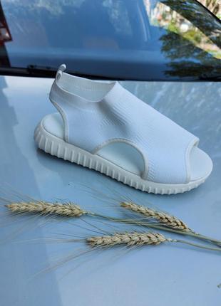 Босоножки текстиль на платформе 🍓 сандалии лето спортивные