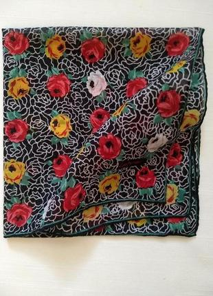 1 + 1 = 3 хустинка батистова lehner бандана сумочна носова платок роуль коллекционный