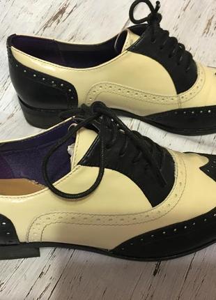 Кожаные туфли clarks р 351 фото