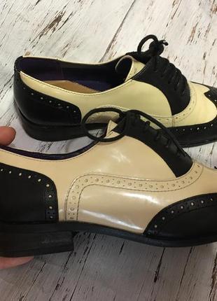 Кожаные туфли clarks р 352 фото