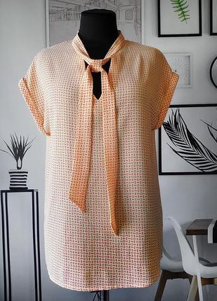 Блуза с бантом promod