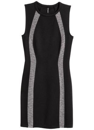 Платье из плотного трикотажа h&m