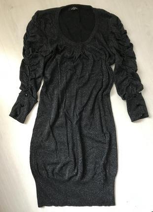 Платье с серебряной нитью!!