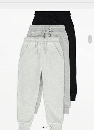 Отличные спортивные штаны джоггеры на флисе от george
