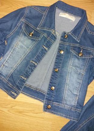 Джинсовая курточка miss one jeans wear