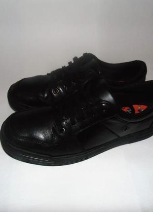 Комфортные кожаные туфли clarks, р-р 38, ст 24,5 см