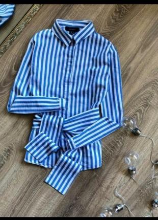 Актуальная рубашка с подвязкой поясом