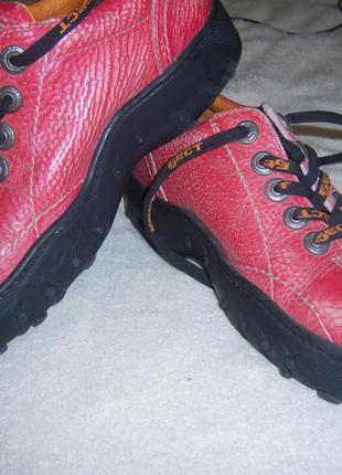 Туфли осень.натуральная кожа .