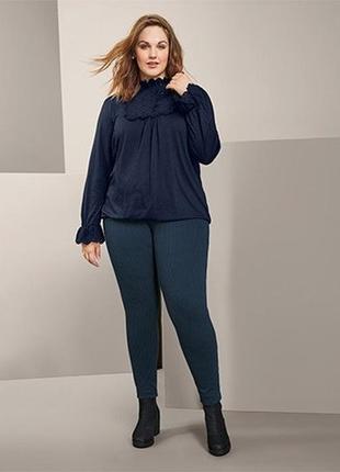 Красивая изысканная женская блуза, блузка от tcm tchibo (чибо), германия, размер l-4xl2 фото