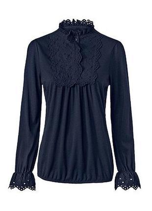 Красивая изысканная женская блуза, блузка от tcm tchibo (чибо), германия, размер l-4xl3 фото