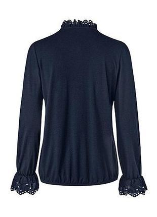 Красивая изысканная женская блуза, блузка от tcm tchibo (чибо), германия, размер l-4xl4 фото