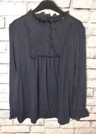 Красивая изысканная женская блуза, блузка от tcm tchibo (чибо), германия, размер l-4xl5 фото