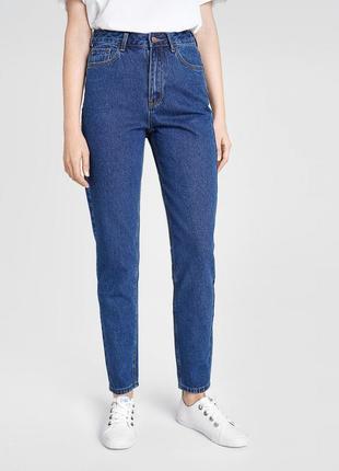 Винтажные мом джинсы с безупречной посадкой mom fit jeans
