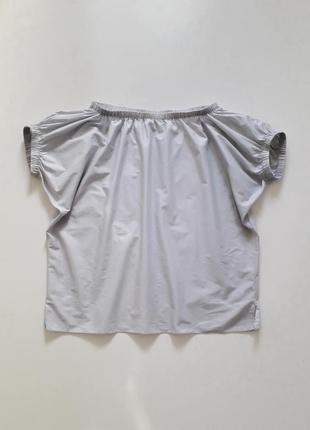 Хлопковый топ блуза с открытыми плечами cos, р.m