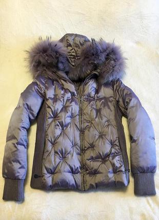 Итальянская куртка-пуховик sooytc