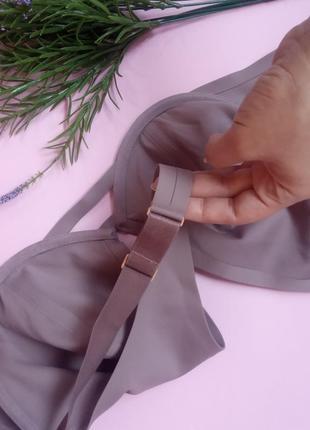Classic unlined plunge bra  фиолет6 фото