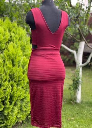 Силуэтное платье3 фото