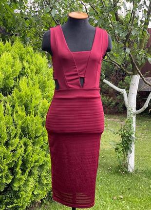 Силуэтное платье4 фото