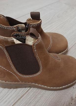 Ботинки primigi кожаные