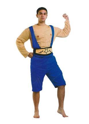 Карнавальный костюм атлет борец качок