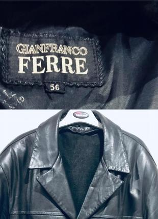 Итальянская мужская кожаная куртка