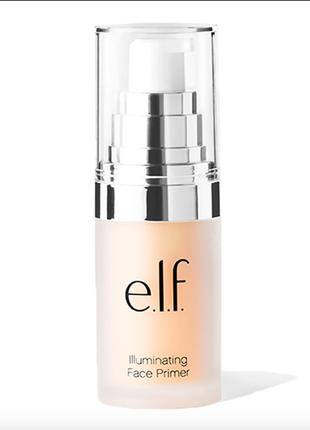 Праймер с эффектом сияния кожи e.l.f. illuminating face primer