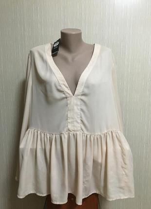 Блуза в стиле boohoo 20 р.