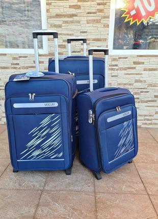 Прочная дорожная серия чемоданов mercury